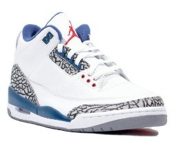Air Jordan 3 Re-Retro White  True Blue