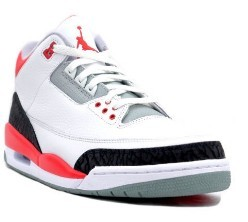 Air Jordan 3 Retro White Fire Red