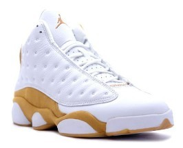 Nike Air Jordan 13 Wheat White