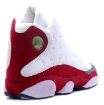 Nike Air Jordan 13 White Team Red  Flint Grey