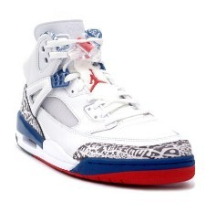 Nike Air Jordan Spizike White red blue