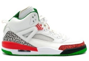 Nike Air Jordan Spizike White Varsity Red Classic Green